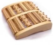 Массажер для различных  частей тела деревянный массажер для ног