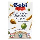 Bebi Prem каша молочн фруктово злаковое ассорти с 6мес 250г
