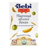 Bebi Prem каша молочн пшеница яблоко банан с 6мес 250гр