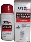 911 шампунь дегтярный от перхоти 150мл