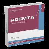 Адемта лиоф д/приг р-ра д/ин 400мг №5  + №5 р-ль (Адеметионин)
